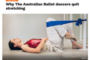 Når der rykkes ved en træningskulturen i balletten